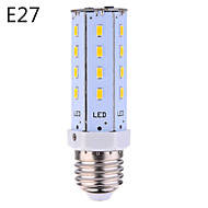 E14/E26/E27 9W 26*5630 SMD 800LM Warm White/Cool White LED Corn Bulbs AC 100-240 V