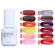 Sequins UV Color Gel Nail Polish No.97-108 (5ml, Assorted Colors)