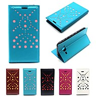 Lambskin Pattern PU Leather  Phone Full Body Cases Protective Shell with Card Bag for Samsung Galaxy J5 J7
