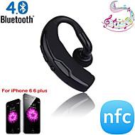 음성 제어 및 소음 제거 핸즈프리 스테레오 A2DP 무선 블루투스 4.0 + EDR NFC 헤드셋 헤드폰
