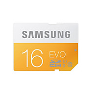 Samsung 16GB Clase 10 SD/SDHC/SDXCMax Read Speed48 (MB/S)Max Write Speed48 (MB/S)