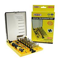 45pcs strumento rewin® professionale set cacciavite elettrico