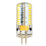 Lâmpada Espiga G4 7 W 650 LM 2800-3200/6000-6500 K Branco Quente / Branco Frio 72 SMD 3014 1 pç DC 12 / AC 12 / AC 24 / DC 24 V T