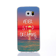 Charming Sunshine Pattern TPU Soft Case for Samsung Galaxy S4/S5/S6/S6edge