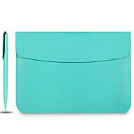 cuero funda protectora portátil capshi paquete de interior para air11 macbook