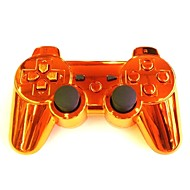 Plating Orange Wireless Joystick Bluetooth DualShock3 Sixaxis Rechargeable Controller gamepad for PS3