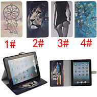 Apricot Blossom Design PU Leather Full Body Case for iPad mini 3, iPad mini 2, iPad mini