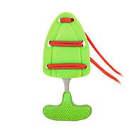 mini auto-difesa di sopravvivenza all'aperto spingono pugnale / coltello pugno con fodero&cordino (colore casuale)