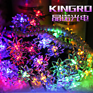 King Ro 30 M 300 5730 SMD Bianco caldo / Bianco / RGB / Rosso / Blu / VerdeImpermeabile / Accorciabile / Telecomando / Oscurabile /