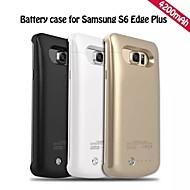 4200mAh externe draagbare back-up batterij Case voor Samsung Galaxy s6 rand plus (verschillende kleuren)