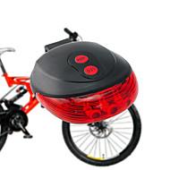 Sykkellykter Baklys til sykkel Laser - Sykling Vandtæt Enkel å bære AAA Lumens BatteriCamping/Vandring/Grotte Udforskning Dagligdags Brug