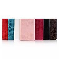 7.9 tommer krokodilleskind mønster høj kvalitet luksus PU lædertaske til iPad Mini 4 (assorterede farver)