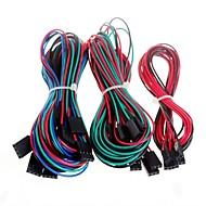 14pcs volledige bedrading kabels voor 3D-printer RepRap ramps 1,4 eindaanslagen thermistoren motor