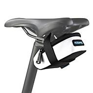 ROSWHEEL® 自転車用バッグ 0.5L自転車用サドルバッグ 防水 / 防水ファスナー / 耐衝撃性 / 耐久性 自転車用バッグ 600Dポリエステル サイクリングバッグ キャンピング&ハイキング / サイクリング 10*5*5
