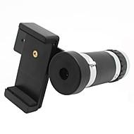 universale 8x zoom ottico obiettivo di macchina fotografica del telescopio con supporto per iphone
