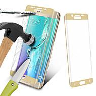 angibabe® 0.3mm volledig scherm deksel kleurrijke gehard glas screen protector voor de Samsung Galaxy s6 rand plus g9280