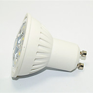 1 pcs JS GU10 3 W 9*SMD 3535 270 LM Warm White / Cool White MR16 Decorative Spot Lights AC 85-265 V