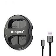 kingma® Dual-Slot USB-Ladegerät für Nikon EN-EL15 Akku für Nikon D750 D7100 D7000 D610 D600 D800E Kamera