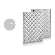 Diamond Lattice for Love-heart Stand PU Leather Case for iPad Air(Assorted Colors)