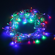 10M 6W 3500K 100-LED Christmas Wedding Decoration Waterproof LED String Lights (EU Plug / AC 220V)