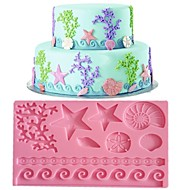 Lace Fondant Mold  Cake Decoration  Mold Random Color FM-09