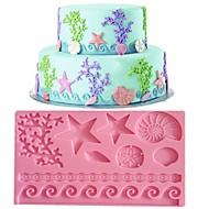 koronki kremówki formy ciasto dekoracji formy losowy kolor FM-09