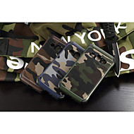 For Samsung Galaxy etui Stødsikker Etui Bagcover Etui Camouflage PC for Samsung J1 Grand Prime E7 E5 Core Prime