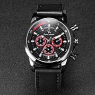 V6 Muškarci Ručni satovi s mehanizmom za navijanje Kvarc Japanski kvarc Koža Grupa Crna Kaki Obala Crn Crno/crvena Žutomrk Crno/plavi