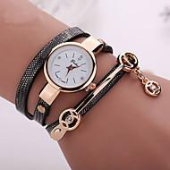 nouvelle cuir de style d'été de la mode des montres bracelet montre-bracelet décontracté femmes habillent la montre de montres relogios