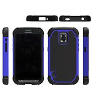 Mert Samsung Galaxy tok Ütésálló Case Hátlap Case Mértani formák PC Samsung S5 Mini / S5 Active / S4 Mini / S3 Mini