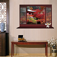 Dieren / Botanisch / Romantiek / Stilleven / Mode / Bloemen / Fantasie Wall Stickers 3D Muurstickers , PVC60x90x 0.1cm 23.622x35.433x