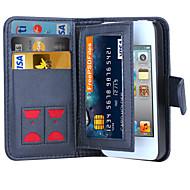 드 지 자기 (2) 아이폰 4 / 4S 용 가죽 지갑 케이스 플립 커버 + 현금 슬롯 + 사진 프레임 전화 케이스 (1) 럭셔리