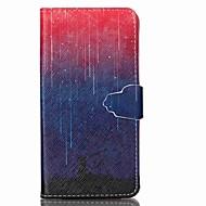Na Samsung Galaxy Etui Etui na karty / Portfel / Z podpórką / Flip Kılıf Futerał Kılıf Przejście kolorów Skóra PU Samsung Grand Prime