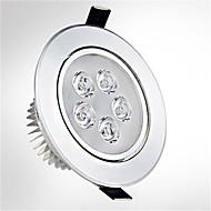 5W 5LEDs 550lm warm / koel wit kleur geleid receseed lichten plafondverlichting (85-265V)