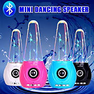 Mini Bluetooth Water Dancing Speaker Wireless Stereo Sub woofer Car Speaker for iphone 6S Samsung