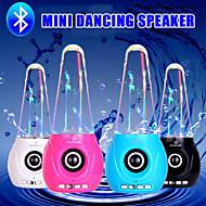 Mini Bluetooth Wasser tanzen Lautsprecher drahtlose Stereo-Subwoofer Autolautsprecher für iphone 6s samsung
