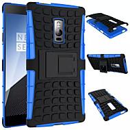 Varten OnePlus kotelo Iskunkestävä Tuella Etui Takakuori Etui Panssari Kova PC varten OnePlus One Plus 2 One Plus 3T