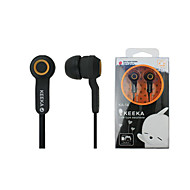 KEEKA KA-14 High Quality 3.5mm Noise-Cancelling  In Ear Earphone for iPhone and Other Phones(Assorted Colors)