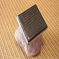 étui à cigarettes en métal 20 surface décorative en cuir