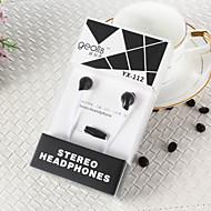 geolis yx-112 hochwertigen 3.5mm Noise-Cancelling-Mikrofon in Ohrkopfhörer für iphone und andere Handys (farbig sortiert)
