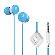 langsdom M158 3,5 millimetri basso-orecchio musicale auricolare stereo con la cuffia microfono per il telefono del pc del calcolatore mp3