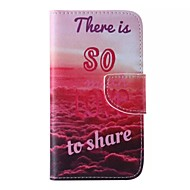 LOVE Pattern Phone Leather For Samsung Galaxy J5