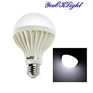 youoklight® 1PCS E27 7W 12*SMD5630 650LM 6000K  White Light LED Globe Bulbs (AC220V)