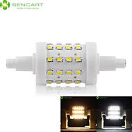 R7S 78mm 36 x 2835SMD 8W Warm White / Cool White 800LM 360°Beam Horizontal Plug Lights Dimmable Flood Light AC85-265V