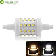 Ampoule Maïs Gradable Blanc Chaud / Blanc Froid SENCART 1 pièce Encastrée Moderne R7S 8 W 36 SMD 2835 700-800 LM AC 85-265 V