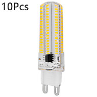 10pcs Dimmable E14/G9/G4/E17/G8/E12/E11/BA15D 12W 152SMD 3014 1200LM Warm White/Cool White LED Light (AC 110V / AC 220V)