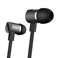 JBM hög stereohörlurar i örat metall hörlurar med mikrofon 3,5 mm hörlurar för spelare samsung iphone