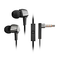 wysokiej słuchawki stereo w ucho metalowe słuchawek słuchawki HF, z mikrofonowe 3,5mm słuchawkom dla gracza samsung iphone