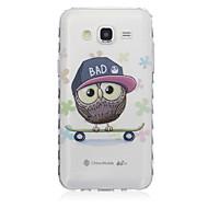 Mert Samsung Galaxy tok Átlátszó / Minta Case Hátlap Case Bagoly TPU SamsungJ7 / J5 / J3 / J2 / J1 Ace / J1 / Grand Prime / Core Prime /