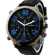 V6® Men's Watch Japanese Quartz Military Silicone Strap Cool Watch Unique Watch Fashion Watch